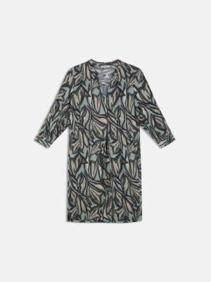 Sandwich NL Korte jurk met halflange mouwen en schilderachtige