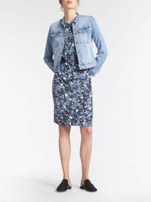 Sandwich NL Van dit tijdloze item zul je jarenlang draagplezier ervaren! Het jasje in authentieke 'jeans-jacket' stijl heeft een aansluitende fit