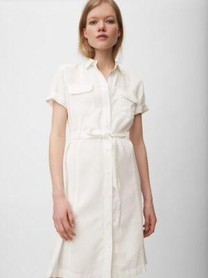 Marc O'Polo Overhemdjurk White Shirt Tencel Wash