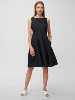 Marc O'Polo Mouwloze jurk dark atlantic