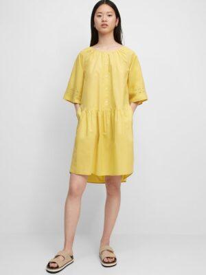 Marc O'Polo Mini-jurk dusty lemon