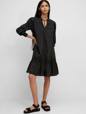 Marc O'Polo Popeline jurk black