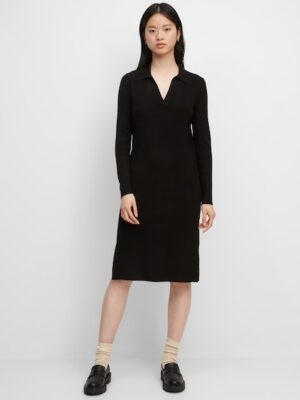 Marc O'Polo Gebreide jurk black