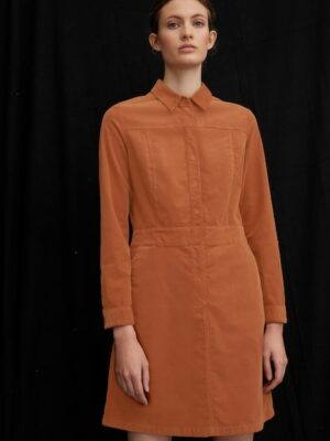Marc O'Polo Mini-jurk chestnut brown