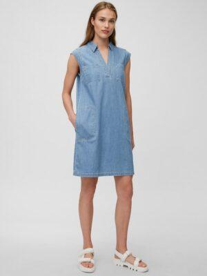 Marc O'Polo Denim jurk flash blue