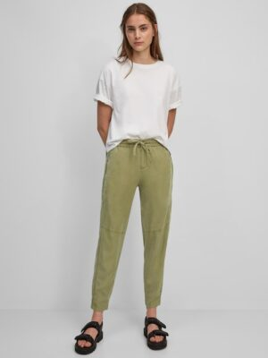 Marc O'Polo Broek model LONTTA relaxed dried sage