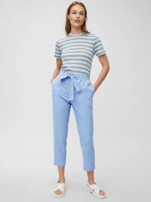 Marc O'Polo Paperbag pants blue note