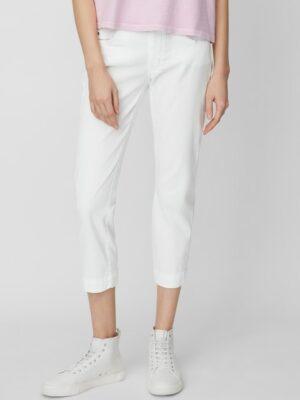 Marc O'Polo Broek model LULEA 7/8 mid waist white