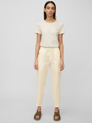 Marc O'Polo Broek model LONTTA relaxed chalky raw