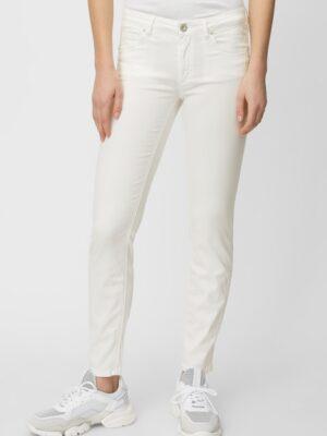 Marc O'Polo Broek model LULEA SLIM mid waist white