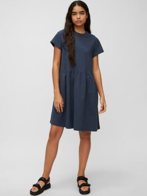 Marc O'Polo Jersey jurk DRESS BLUE