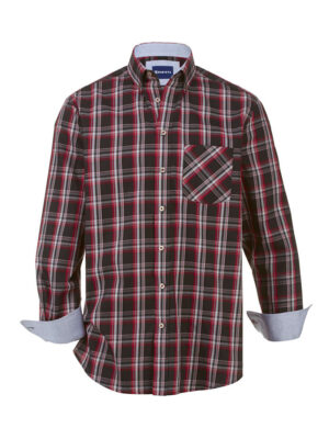 Babista Overhemd BABISTA Zwart::Rood