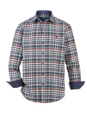 Babista Overhemd BABISTA Groen::Wit