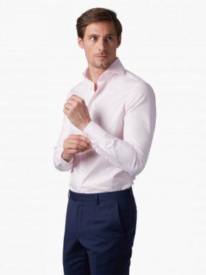 Cavallaro Napoli Heren Overhemd - NOS Pink Overhemd - Roze -