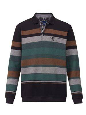 Babista Sweatshirt BABISTA Zwart::Groen::Roest
