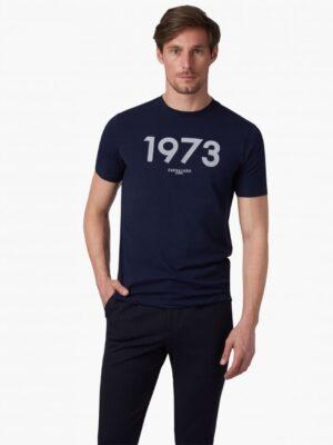 Cavallaro Napoli Heren Overhemd - Massari T-Shirt - Donkerblauw -