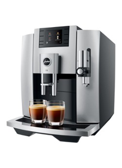 Jura E8 Moonlight Silver (EB) koffiemachine