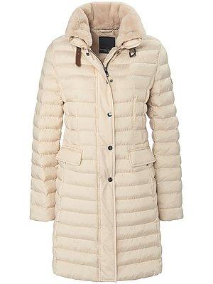 Lange gewatteerde jas van FUCHS & SCHMITT: zeer licht en geschikt voor de winter met 'Solarball'-wattering die warmte opslaat en heerlijk zacht