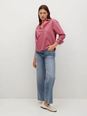 Mango  100% katoenen blouse