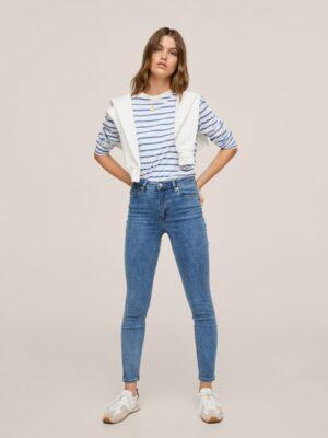 Mango  High-waist skinny jeans