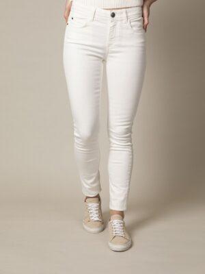 Cavallaro Napoli Dames Emma Jeans - Off white -