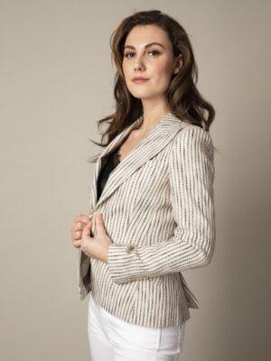 Cavallaro Napoli Dames Blazer - Sarah Blazer - Beige -