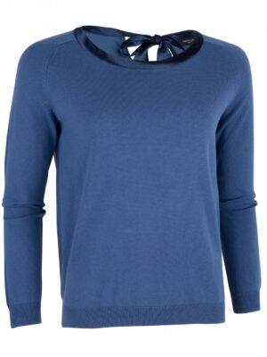 Cavallaro Napoli Dames Pullover - Ledra Pullover - Blauw -