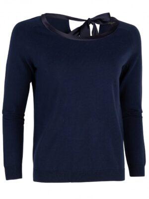 Cavallaro Napoli Dames Pullover - Ledra Pullover - Donkerblauw -