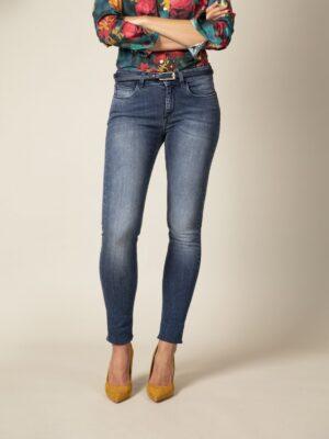 Cavallaro Napoli Dames Jeans - Sicilia Denim Jeans - Blauw -