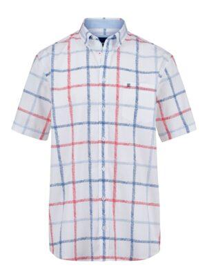 Babista Overhemd BABISTA Wit::Rood::Blauw