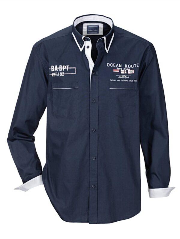 Babista Overhemd BABISTA Marine