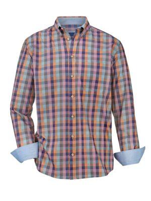 Babista Overhemd BABISTA Blauw::Roze::Oranje