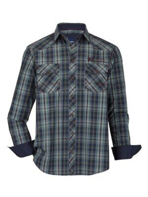 Babista Overhemd BABISTA Blauw::Rood