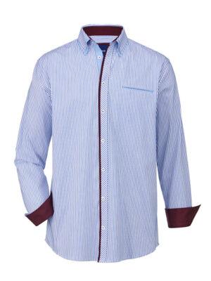 Babista Overhemd BABISTA Wit::Blauw