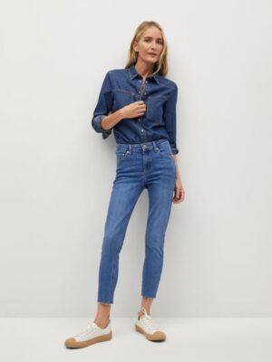 Mango  Isa crop skinny jeans