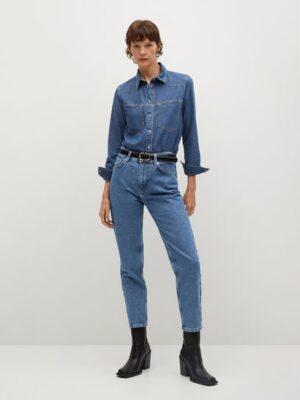 Mango  100% katoenen mom-fit jeans