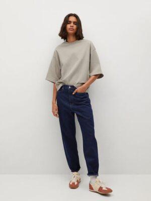 Mango  Balloon high-waist jeans