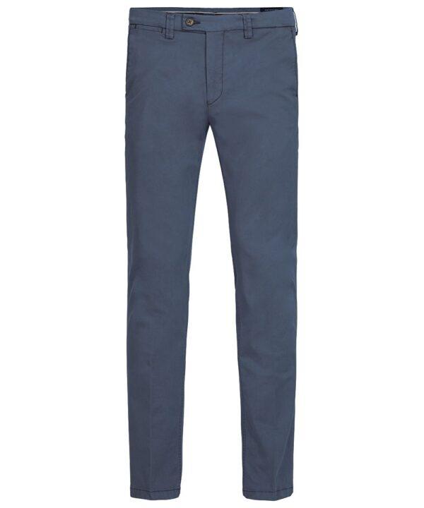 Profuomo heren blauw garment dye chino