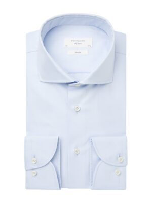 Profuomo heren blue royal twill no 6 overhemd