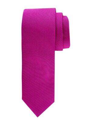 Profuomo heren fuchsia oxford zijden stropdas