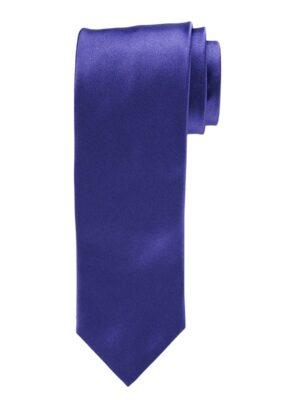 Profuomo heren paarse royal satijn-zijden stropdas