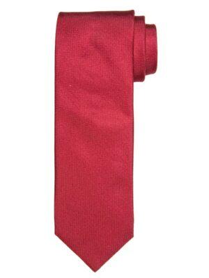 Profuomo heren coraal oxford zijden stropdas
