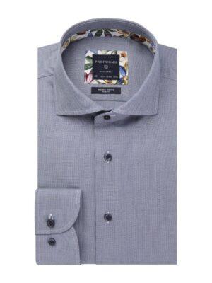 Profuomo heren blauw oxford overhemd Originale