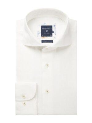 Profuomo heren wit linnen one-piece overhemd Originale