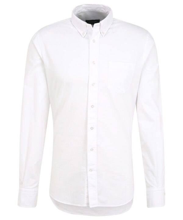 Profuomo heren white oxford button down overhemd Originale