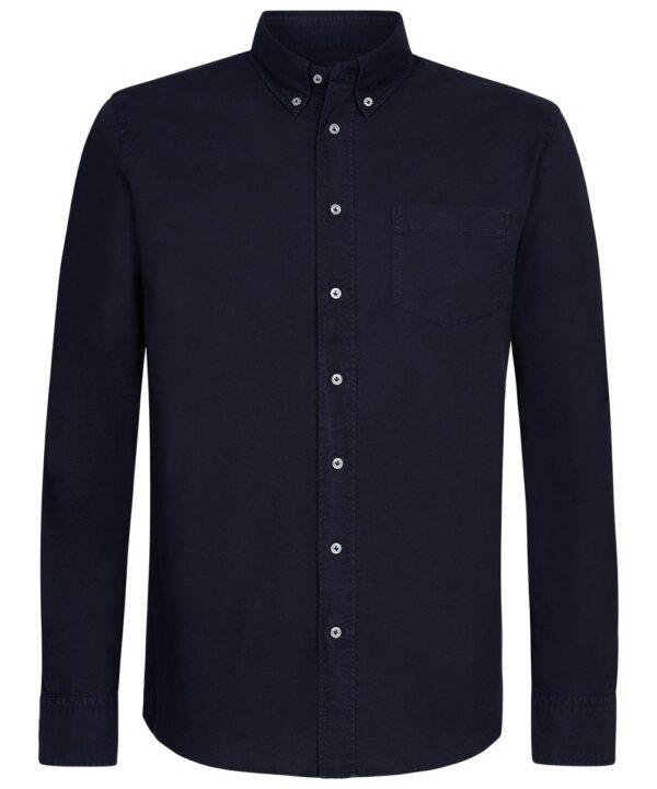 Profuomo heren navy button down overhemd Originale