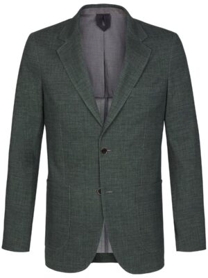Profuomo heren groen knitted hopsack colbert