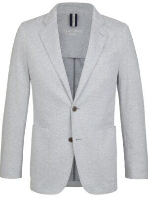 Profuomo heren grijs knitted colbert