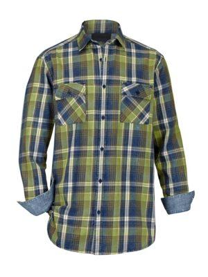 Babista Overhemd BABISTA Blauw::Groen