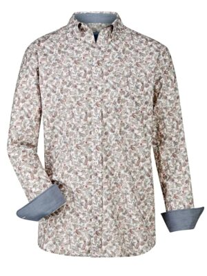 Babista Overhemd BABISTA Wit::Grijs::Roze